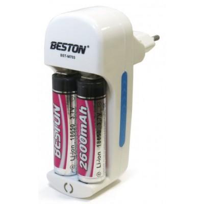 BESTON BST-M703 - универсальное зарядное устройство для Li-Ion аккумуляторов 18650, 14500, 17650, 17500 и др.