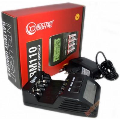 Зарядное устройство Extradigital BM110 для АА и ААА аккумуляторов, интеллектуальное, автоматическое.