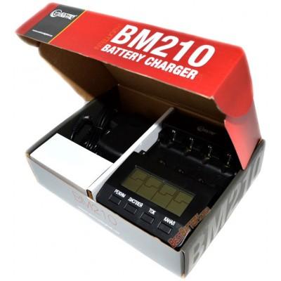 Интеллектуальное зарядное устройство Extradigital BM210 для АА и ААА аккумуляторов. Независимые каналы.