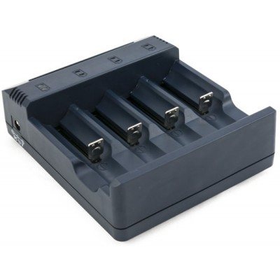 Универсальное зарядное устройство Extradigital BC100 для зарядки практически любых цилиндрических АКБ.