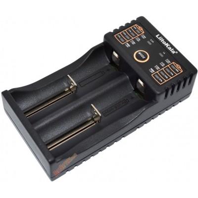 Зарядное устройство LiitoKala Lii-202 для АА, ААА, 18650, 16340 и др. аккумуляторов + Power Bank.