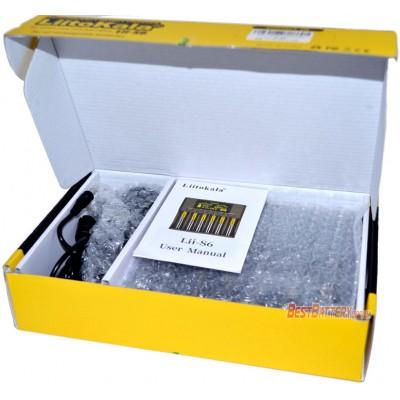 Зарядное устройство LiitoKala Lii-S6 на 6 каналов для Ni-Mh, Ni-Cd, LiFePO4 и Li-ion аккумуляторов.