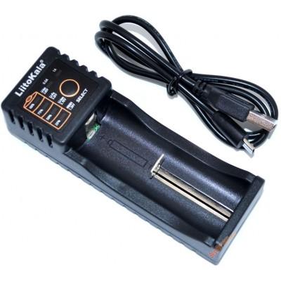 Универсальное зарядное устройство LiitoKala Lii-100 для АА, ААА, 18650, 16340 и др. аккумуляторов + Power Bank.