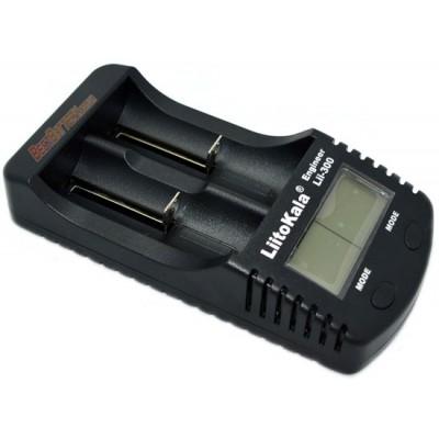 Зарядное устройство LiitoKala Lii-300 для Ni-Mh, Ni-Cd и Li-ion аккумуляторов с функцией Power Bank + Блок питания.