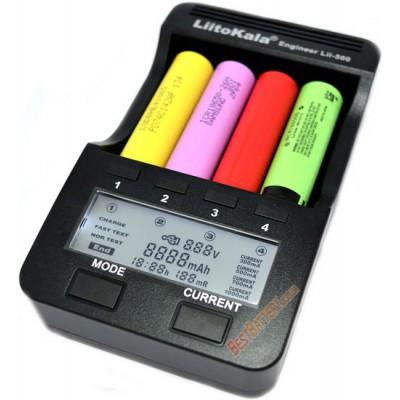 Зарядное устройство LiitoKala Lii-500 на 4 Ni-Mh, Ni-Cd и Li-ion аккумулятора с функцией Power Bank + Автоадаптер.