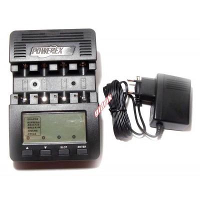 Maha Powerex MH-C9000 - интеллектуальная зарядная станция + фирменная сумка в комплекте.