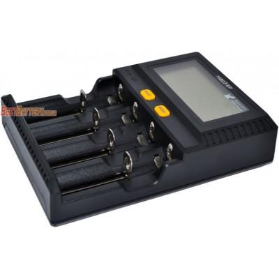 Быстрое зарядное устройство Miboxer C4-12 Upgrade с дисплеем для Li-Ion, Ni-Mh и Ni-Cd аккумуляторов. Ток -12А! NEW.