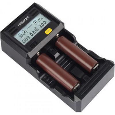 Зарядное устройство Miboxer C2-6000 с дисплеем для Li-Ion, Ni-Mh и Ni-Cd аккумуляторов. Суммарный ток - 6А.