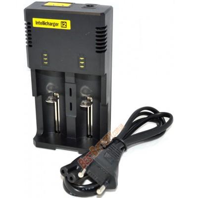 Универсальное зарядное устройство Nitecore Intellicharger i2 v2014 для Li-Ion / IMR, Ni-Mh / Ni-Cd аккумуляторов.