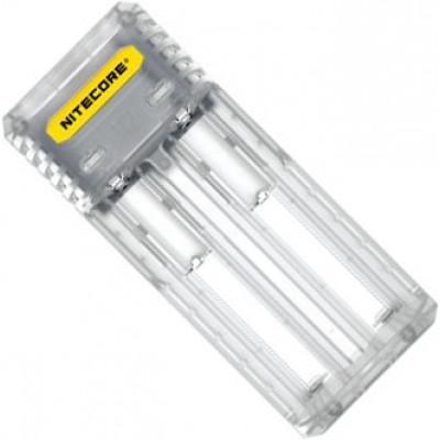 Зарядное устройство Nitecore Q2 белого цвета (Lemonade) для Li-Ion / IMR аккумуляторов. Ток 2А.