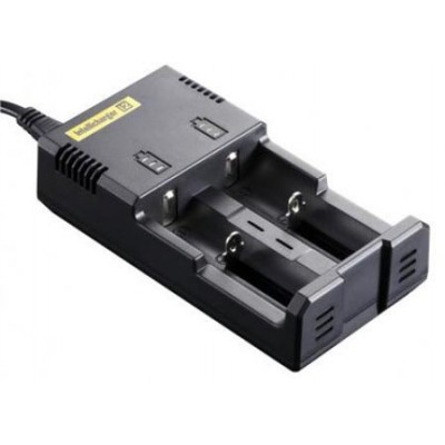 Nitecore Intellicharger i2 - универсальное зарядное устройство + Автоадаптер.