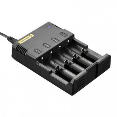 Nitecore Intellicharger i4 v2 - универсальное зарядное устройство для АА, ААА, 18650, 14500, 123А и др.