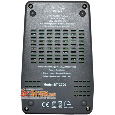 Интеллелктуальное зарядное устройство Opus BT-C700 v2.2 (аналог La-Crosse / Technoline BC 700).