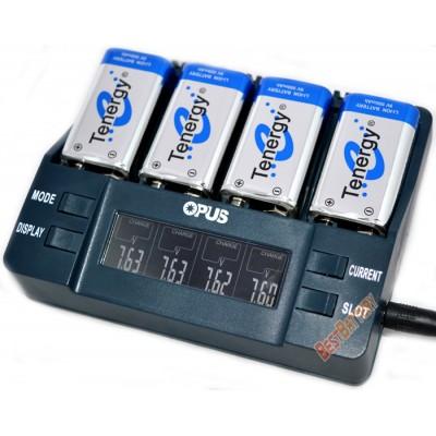 Интеллектуальное зарядное устройство Opus BT-C900 для Крон с функциями разряда, тестирования и восстановления.