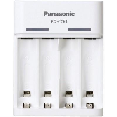 USB зарядное устройство Panasonic BQ-CC61E Basic charger на 4 канала.