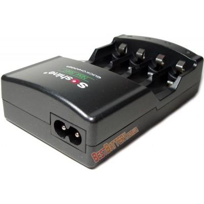 Soshine SC-U1 - быстрое автоматическое зарядное устройство для АА и ААА аккумуляторов.
