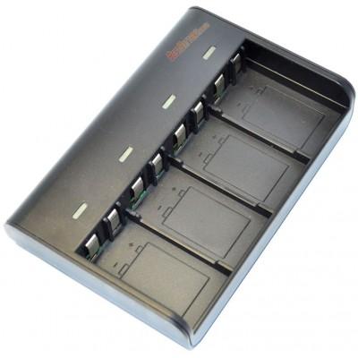 Soshine SC-V4  - универсальное зарядное устройство для аккумуляторов Крона на 4 канала.