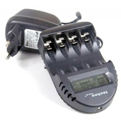 Зарядное устройство Technoline BC-250 для АА и ААА аккумуляторов с дисплеем.