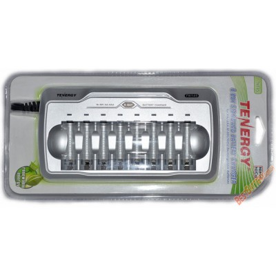 Tenergy TN145 - зарядное устройство на 8 АА или 8 ААА аккумуляторов, автоматическое.