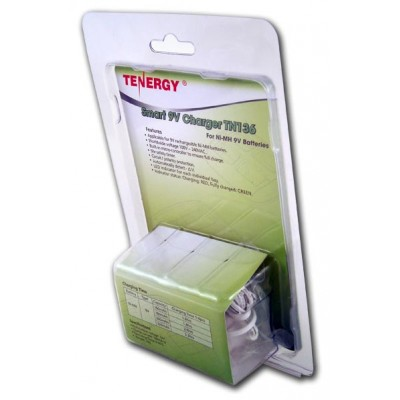 Tenergy TN136 - зарядное устройство для аккумуляторов Крона на 4 канала.