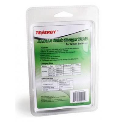 Tenergy TN142 - автоматическое зарядное устройство для АА и ААА аккумуляторов на 2 слота.