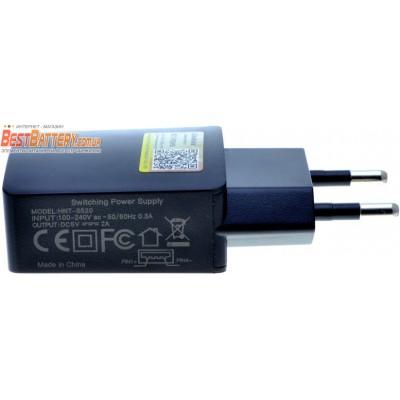 USB блок питания LiitoKala HNT-S520 2A. Для зарядных устройств Liitokala, Nitecore, X-Tar и др.