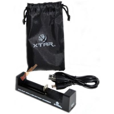 Зарядное устройство XTar MC1 для Li-ion аккумуляторов от USB.