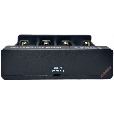 Зарядное устройство XTar MC4 для Li-ion аккумуляторов. Питание от USB, 4 независимых канала.