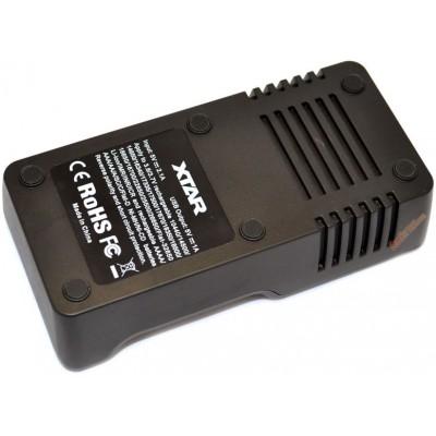 Универсальное зарядное устройство XTar VC2 Plus Master для Li-ion и Ni-Mh аккумуляторов + PowerBank (v2016).