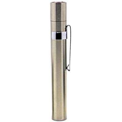 Карманный мини фонарь Soshine ST1 на 100 люмен в металлическом корпусе с питанием от 1хААА или 1х10440.