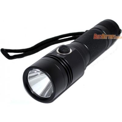 Мощный фонарь Soshine TC14 USB на 1100 люмен в алюминиевом корпусе с питанием от 1х18650.