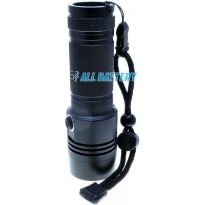 Фонарь Soshine TC17 USB, алюминиевый корпус, 1100 люмен, XMK T6 White, встроенное зарядное, IPX-6. 1х18650 или 1х26650.