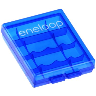 Sanyo Eneloop 2000 mAh (HR-3UTGB) - в оригинальном синем боксе Eneloop.