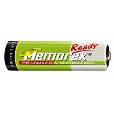Memorex Ready 2100 mAh - низкосаморазрядные аккумуляторы от memorex.