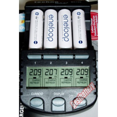 Sanyo Eneloop 2000 mAh (HR-3UTGB) - последнее поколение аккумуляторов от Sanyo без упаковки по специальной цене. Цена за 1 шт.