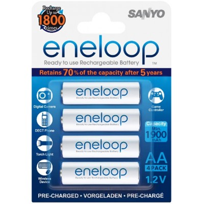 Sanyo Eneloop 2000 mAh (HR-3UTGB) - последнее поколение аккумуляторов от Sanyo! Цена за уп. 4 шт.