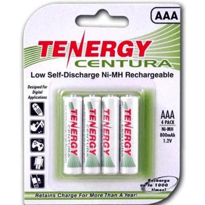 Tenergy Centura LSD 800 mAh - низкосаморазрядные минипальчиковые аккумуляторы от Tenergy. Цена за уп. 4 шт.