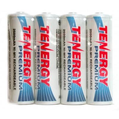 Пальчиковые аккумуляторы Tenergy Premium 2500 mAh (АА). Цена за 1 шт.