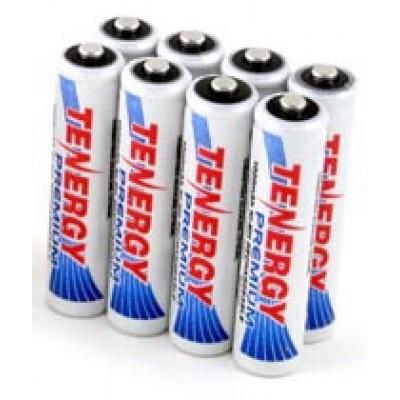 Минипальчиковые аккумуляторы Tenergy Premium 1000 mAh (ААА). Цена за 1 шт.