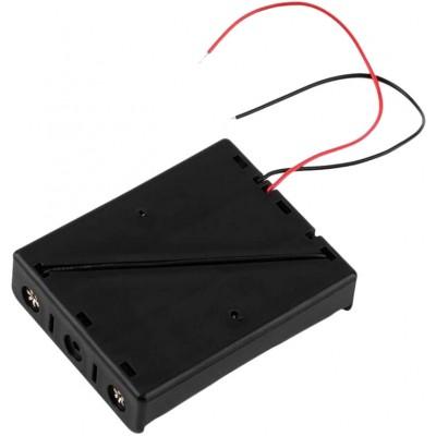 Держатель (холдер) с контактами на 3 аккумулятора 18650 с последовательным соединением (11.1V).