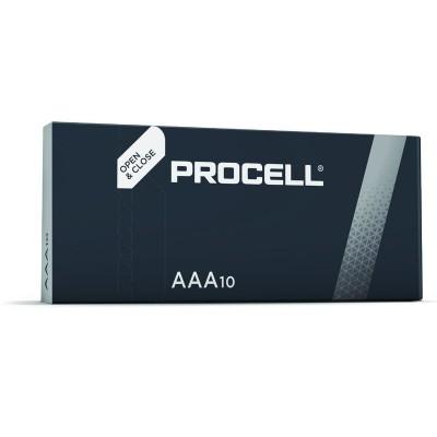 Минипальчиковые щелочные батарейки Duracell Procell Alkaline AAA, 1.5В (PC2400). Цена за 1 шт.