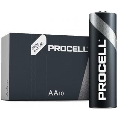 Пальчиковые щелочные батарейки Duracell Procell Alkaline АА, 1.5В (PC1500). Проф. версия. Цена за 1 шт.
