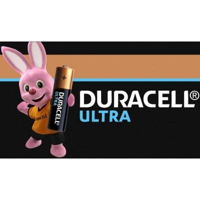 Пальчиковые щелочные батарейки Duracell Ultra Alkaline АА, 1.5В с индикатором. MX1500. Цена за уп. 4 шт.