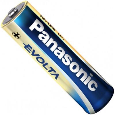 Щелочные пальчиковые батарейки Panasonic Evolta AA (LR6) 1.5В. 4 шт. в блистере. Цена за уп. 4 шт.