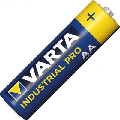 Пальчиковые щелочные батарейки Varta Industrial PRO АА / LR6 (4006), 1.5В. Цена за уп. 4 шт. Германия.