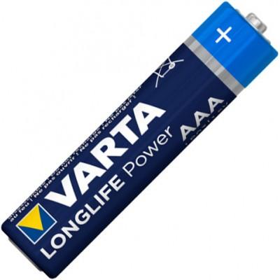 Минипальчиковые щелочные батарейки Varta Longlife Power AАА / LR03 (4903), 1.5В. Цена за уп. 4 шт. Alkaline.