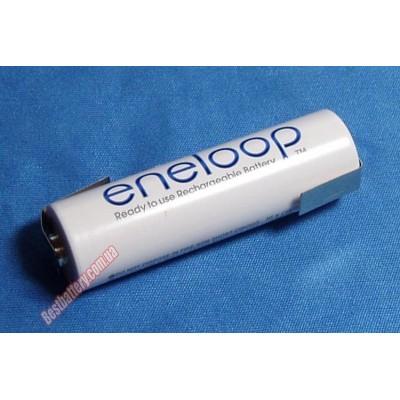 Sanyo Eneloop 2000 mAh (HR-3UTGB) c лепестками - специально предназначены для пайки! Цена за 1 шт.
