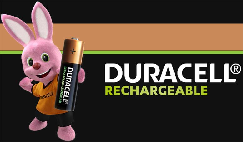 Пальчиковые аккумуляторы Duracell 2500 mAh AA в блистере 4 шт.