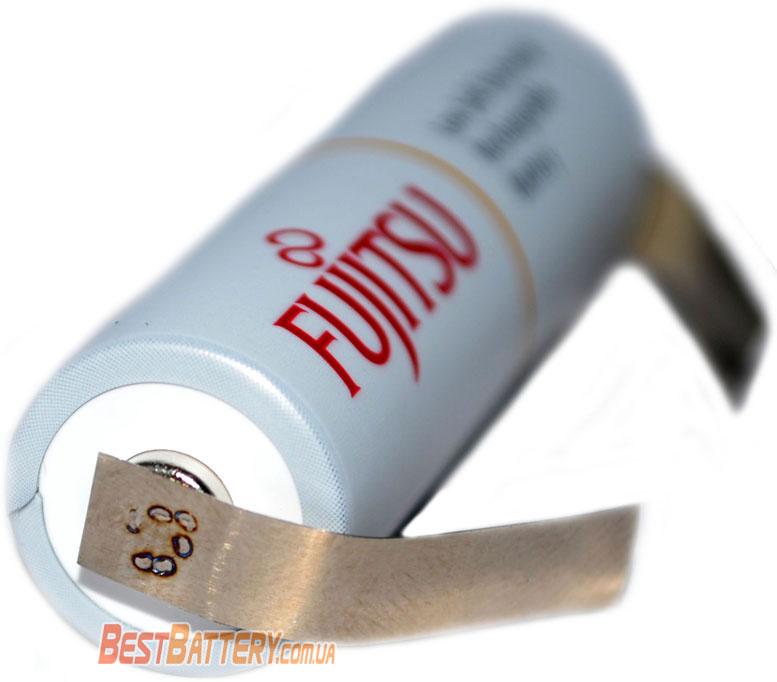 Японские аккумуляторы Fujitsu 2000 mAh AA с лепестками для пайки.