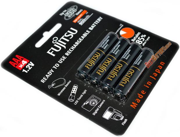 Аккумуляторы Fujitsu Pro 950 mAh (HR-4UTHC 4B) в блистере